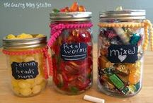Gifts in a Bottle / fun making these