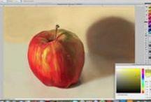 Digital Art Tutorials / A collection of tutorials focused on creating fine art with digital tools.