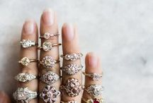 jewels / Sparkle obsessed! Rings & jewelry for major inspiration.