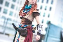 Horizon Zero Dawn cosplay / Costumes and costumed performances based on characters from Horizon Zero Dawn. #horizonzerodawn #cosplay