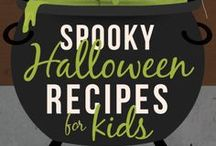 Everything Halloween / Tricks and treats and delicious eats…That's what Halloween is all about. From candy corn cookies and peanut butter pumpkins to gooey ghost brownies and yummy mummy cake pops, we've gathered all of the sweetest, spookiest and most hauntingly delicious Halloween recipes we could find. Prepare a few for your big Halloween party—if you dare!