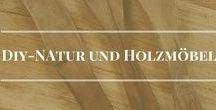 Diy Natur und Holz Möbel
