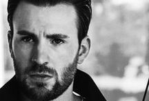 Chris Evans - hella good hair