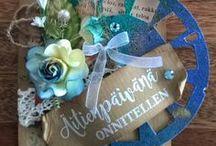 Kortteja - äidille - mother's day / Tekemiäni äitienpäiväkortteja - My handmade Mother´s day cards