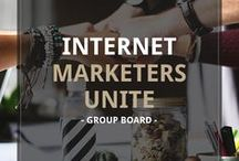 Internet Marketers Unite | Group Board / For all you Internet Marketers out there, let's join forces and grow our businesses together. Promote your latest product, share hot affiliate deals, and grow your online income. || WANT TO JOIN? 1. Follow this board 2. Follow @mindfullyabundant 3. visit https://mindfullyabundant.com/pin-together to send a request to join.