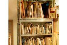 Organización doméstica / Estanterías metálicas para nuestro orden en el hogar