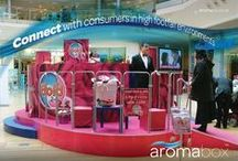 Aroma diffusion / Campaigns that utilise The Aroma Company's solutions for producing a scent in the air.