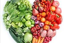 Staying healthy / Here's a variety of foods that give you the nutrients you need to maintain your health, feel good, and have energy...along with some quotes and images to help keep us motivated to living a healthy lifestyle