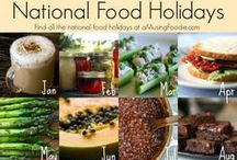 National Food Holidays / Come Celebrate with us, as we enjoy National Food Holidays 365 Days a Year! / by Big Bite Events