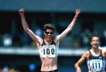 "Marla Runyan Changing the Game / Marla Runyan was diagnosed blind after contracting Stargardt's Disease. Winner of 5 Gold medals in the 1992 Barcelona  Para Olympics. The first disabled woman to compete in the 2000 Summer Olympic Games. in 2002 Marla held three US 1500m running titles and  was No1 in the US for the 5000m and marathon. Author of ""No Finish Line: My Life as I See It"" and ambassador for the Perkins School for the Blind.   http://www.thextraordinary.org/marla-runyan"