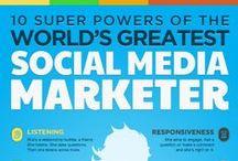 Social Media Marketing Infographics / Social Media Marketing Infographics