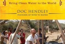"Doc Hendley Changing the Game / Meet the extraordinary founder of  ""Wine to Water,"" an organization that helps bring clean water to places that need it by holding wine-tasting events and other fundraising projects. He is now spearheading an organization that has helped 250,000 people in 17 different countries. ""I see water as a foundation for any humanitarian work."" Doc Hendley http://www.thextraordinary.org/doc-hendley"