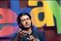 "Pierre Omidyar Changing the Game / Meet the extraordinary founder and head of eBay, the largest auctioning website in the world, Pierre Omidyar. He is also the co-founder of Omidyar Network, one of the largest philanthropic groups in the world. He is one of the 40 richest people who has given more than half of their revenue to charity. ""The more we connect people, the more people know one another, the better the world will be."" Pierre Omidyar http://www.thextraordinary.org/pierre-omidyar"