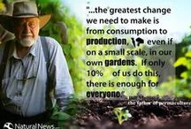 "Bill Mollison Changing the Game / Meet the extraordinary Bill Mollison. Also known worldwide as the 'father of permaculture', is a widely-renowned naturalist, scientist, teacher, writer and researcher who is one of the greatest proponents of permaculture (permanent agriculture), a system of architecture and agriculture that is sustainable and friendly to the environment. ""The ethics are simple: care of the earth, care of people, and reinvestment in those ends.""  Bill Mollison  http://www.thextraordinary.org/bill-mollison"