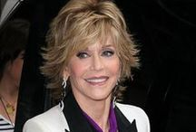 "Jane Fonda Changing the Game / Meet the extraordinary  versatile actress, Jane Fonda. Known for her role in ""Klute"" as the prostitute, Bree Daniels. She got her first Oscar Best Actress Award in that movie which was followed by another Academy Award for ""Coming Home."" Her 17 million sales of ""Jane Fonda's Workout Video"" remains unbeatable. An activist, Jane co-founded Women's Media Center. ""In order to know where I was going, I need to know where I'd been"". Jane Fonda http://www.thextraordinary.org/jane-fonda"
