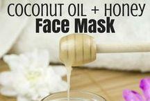 Face and hair masks