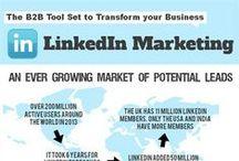 Linkedin Marketing Infographics / Linkedin Marketing Infographics