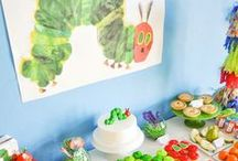 Hungry Caterpillar Party Ideas / Hungry Caterpillar Party Ideas