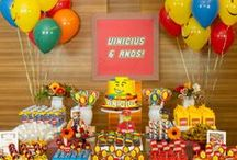 LEGO Party Ideas / LEGO Birthday Party Ideas, Decorations, Invitations, Party Bags, Games