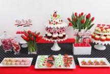 Ladybug Party Ideas / Ladybug Birthday Party Ideas, Decorations, Invitations, Party Bags