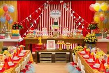 Circus Carnival Party Ideas / Circus Carnival Birthday Party