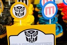 Transformers Party Ideas / transformer-theme-party #transformer #birthday #party