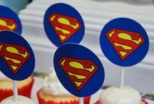 Superman Supergirl Party Ideas / Superman Supergirl Party Ideas