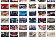 Nordic sweaters / Rundstrikk