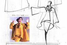 Sewingpatterns for jackets and blouses / Mønster til jakker og bluser