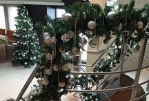 Christmas decorations Avalon Waterways / Kerstdecoraties voor 2 riviercruiseschepen uit de floot van Avalon Waterways - Avalon Panorama en Avalon Vista