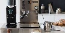 Rancilio / Rancilio began making high quality commercial espresso machines in Italy in the 1920s, but it was in the late 1990s that they probably made their biggest contribution to the coffee world with the release of the Rancilio Silvia. It became a benchmark piece of equipment for home espresso brewing and played a part in the development of the third wave of coffee.