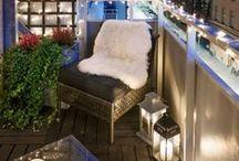DIY - Balkon Deko   Balcony Decor / Deko Ideen rund um den Balkon und die Terrasse