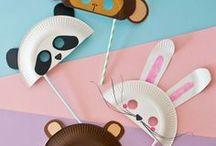 DIY - Basteln mit Kindern    Crafts with Kids / Basteln mit und für Kinder / Crafts with and from Kids