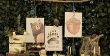 Woodland Party Ideas / Carousel Party Ideas