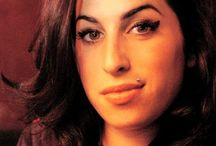 Amy Winehouse / by Ted Dollar