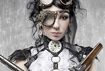 Steampunk / Steampunk is a style I just Love!  It's a mix of metal and leather with post-apocalyptic 19th century's British Victorian style. A time where people used steam to power Air ships and where people made unique mechanical inventions. Warning Steampunk Conventions want realistic costumes. / by Rona Hater