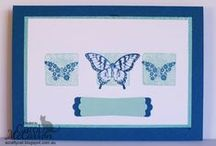 Stampin' Up! Cards - General / Cards using Stampin' Up! products but can be for any occassion ie not particularly for females or males. / by Carol McCarron - A Crafty Cat