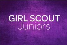 Juniors / From community service projects to summer camp, travel opportunities to career exploration, Girl Scouts participate in enriching, skill-building activities that give them the tools and opportunties to become exactly who they want to be. Through experiences that build confidence, creativity and important life skills, today's Girl Scouts develop real world leadership abilities. Girl Scout Juniors are in grades 4-5.