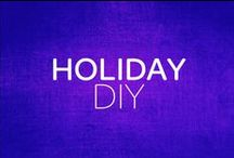 Holiday DIY / DIY crafts and recipes for Thanksgiving, Hanukkah, Las Posadas, Christmas/Navidad, and New Year celebrations.  / by Girl Scouts–Arizona Cactus-Pine Council