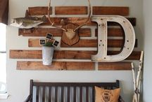 Home decor ideas - DIY/recycled / If I ever get the chance and motivation...