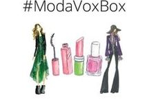 #ModaVoxBox / Check out my board featuring all the goodies I got in my Moda Vox Box, thanks to influenster!