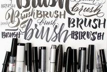 Handlettering Tools / All the goodies you need to build skills and create rad snail mail.
