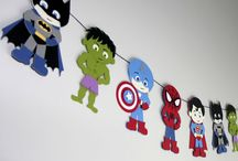 superheroes party styling