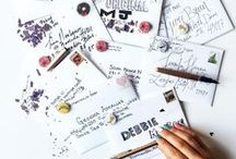 Hand-Lettered Envelopes / Junkmail, get the eff out of our way.
