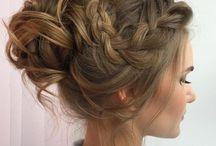 Hair, braids, updos...