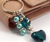 Bag and Key Charms