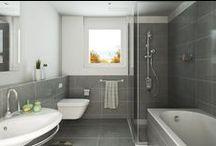 Kylpyhuone & Sauna / Bathroom & Sauna