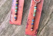 Rustic Jewelry / Handmade designs in copper and brass