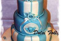 Celebration cake / http://dolcifolly.weebly.com/blog/torta-battesimo