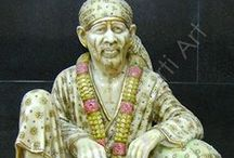 Sai Baba Marble Statues / Sai Baba Statues and Plenty of Handmade items are being developed buy Sai Sharadha Moorti Art. your option of handicraft items manufacturer is rely on your option of artistry.